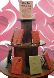 Valentine's Book Display